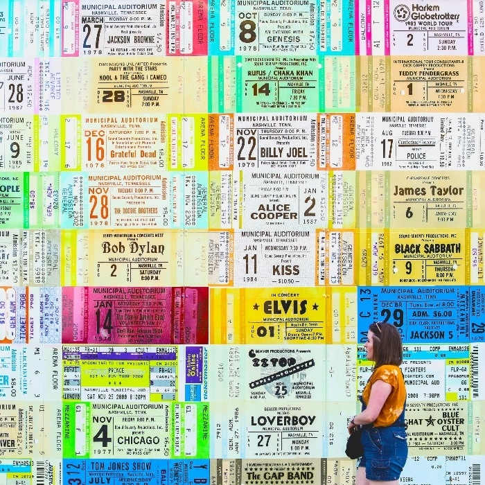 Wall of Tickets